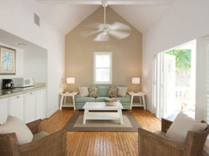 Picture of spacious living room.